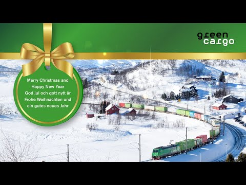 God Jul & Gott Nytt År önskar vi på Green Cargo!