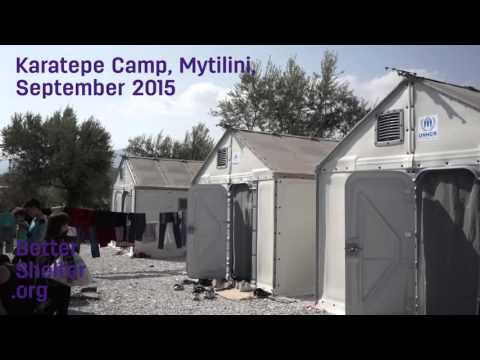 Preview: Better Shelter in Mytilini, Greece.