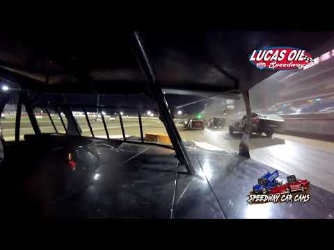 #54 Shawn Whitman - USRA B Modified - 10-7-2021 Lucas Oil Speedway - In Car Camera - dirt track racing video image