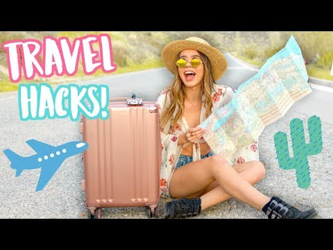 How to Pack for Vacation! Travel Life Hacks!