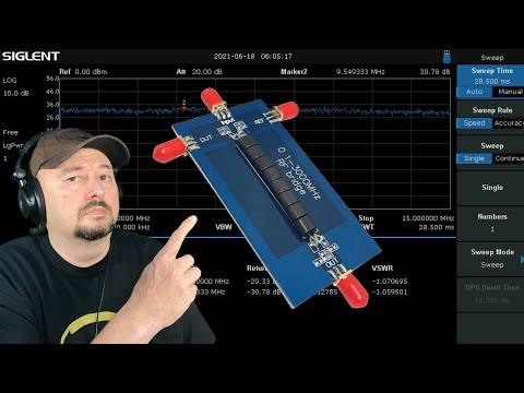 Cheap RF Bridge testing with Siglent SSA 3021X
