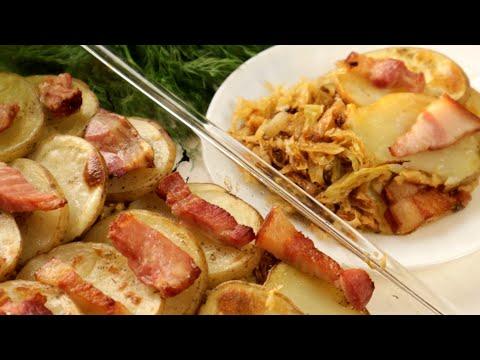 Потрясающее Блюдо из Картошки!Недорогой простой ужин для всей семьи!