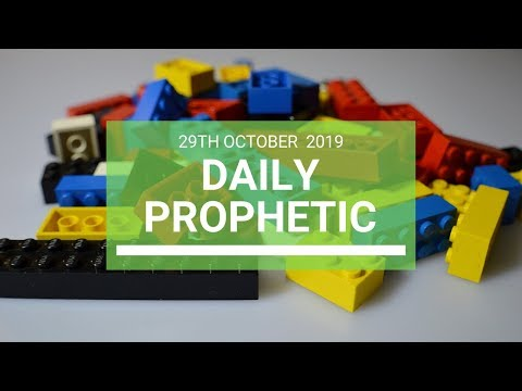 Daily Prophetic 29 October 2019 Word 8