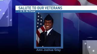 Salute to our veterans: Airman Joshua Gray - NBC 15 WPMI
