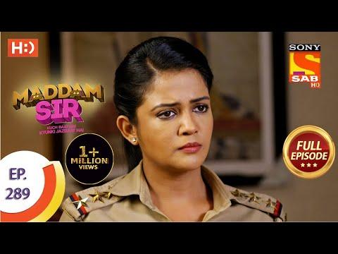 Maddam sir - Ep 289 - Full Episode - 3rd September  2021