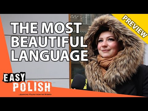 What's the most beautiful language in the world? (PREVIEW) | Easy Polish 132 photo
