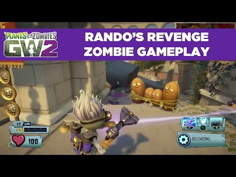Rando's Revenge Zombie Gameplay | Plants vs. Zombies Garden Warfare 2 | Live From PopCap