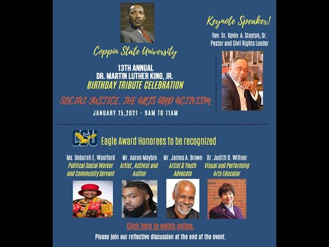 13th Annual Dr. Martin Luther King, Jr  Birthday Tribute Celebration