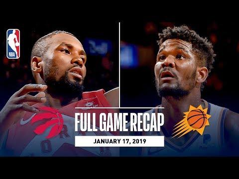 Full Game Recap: Suns vs Raptors   Toronto & Phoenix Go Down To The Wire