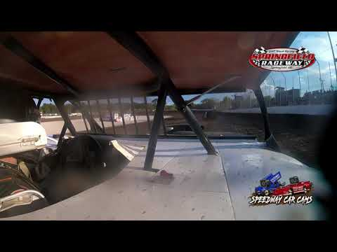 #75 Gage Garoutte - Midwest Mod - 9-18-2021 Springfield Raceway - In Car Camera - dirt track racing video image