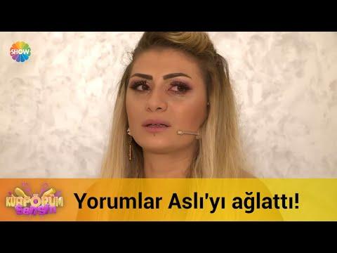 Sosyal medyadan gelen yorumlar Aslı'yı ağlattı!