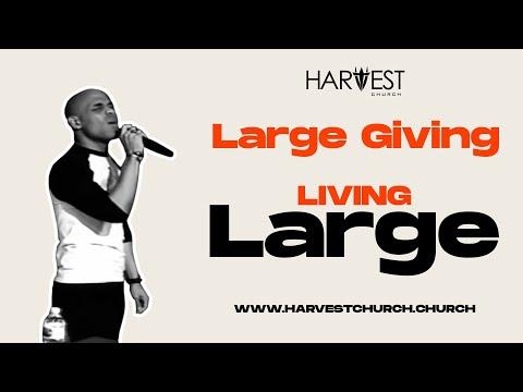 Large Giving - Bishop Kevin Foreman
