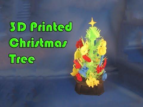 3D Printing a Christ Themed Christmas Tree