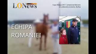 Interviu Echipa Romaniei - Cupa Shagya - Campionat de anduranta ecvestra Buftea, 2017