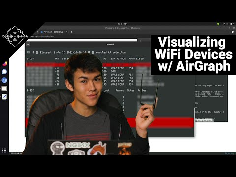 Visualize WiFi Relationships with AirGraph-ng   HakByte