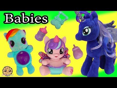 MLP Princess Luna Babysit My Little Pony Flurry Heart, Rainbow Dash + Baby Alive Babies - UCelMeixAOTs2OQAAi9wU8-g