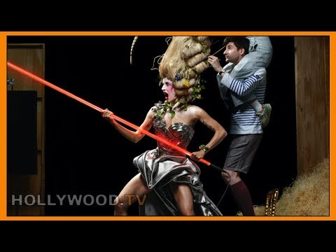 """Lady Gaga's """"intergalactic"""" photo shoot, and a recipe for Pi(e) Day! - What's HOT on HollywoodTV"""