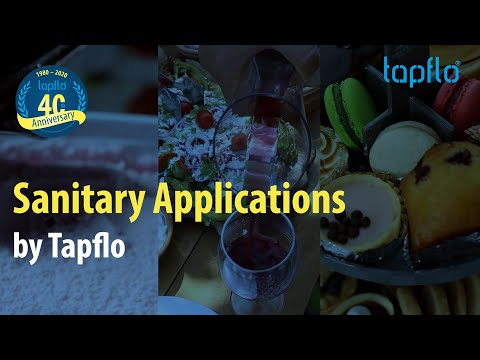 Sanitary Applications by Tapflo