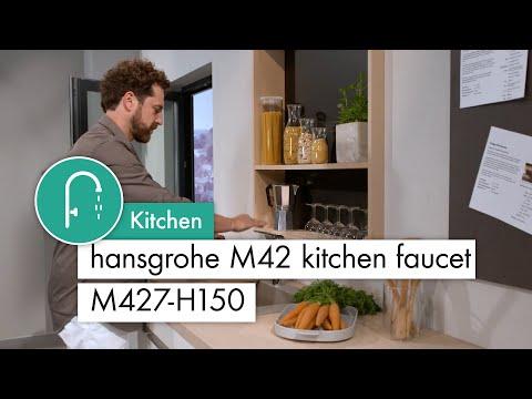 hansgrohe M42 kitchen mixer M427 H150