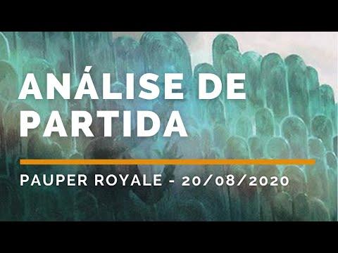 PAUPER ROYALE!!!! ANÁLISE DE PARTIDA [GAMEPLAY PAUPER 2020]