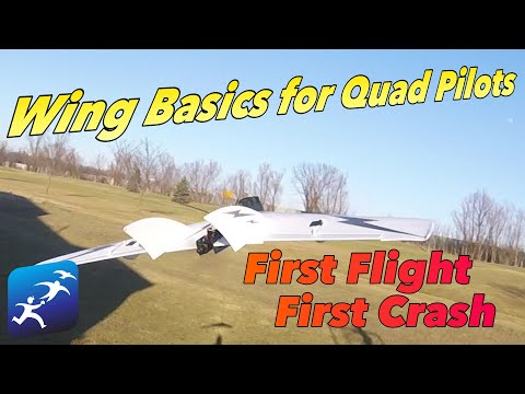 Wing basics for quadcopter pilots. First look at the SonicModell Carbon Fiber Racing Wing - UCzuKp01-3GrlkohHo664aoA