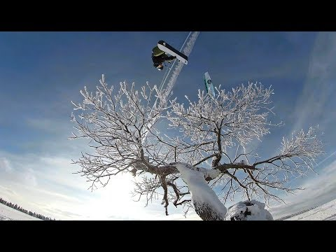 Best of snowkiting Moldava - GoPro overcapture