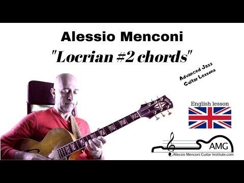 Locrian 2# chords   Alessio Menconi Jazz Guitar Lessons (in english)