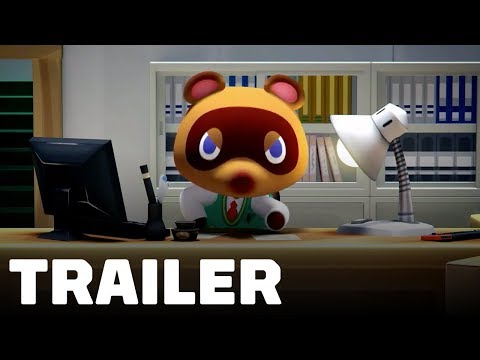 Animal Crossing Nintendo Switch Announcement Trailer - UCKy1dAqELo0zrOtPkf0eTMw