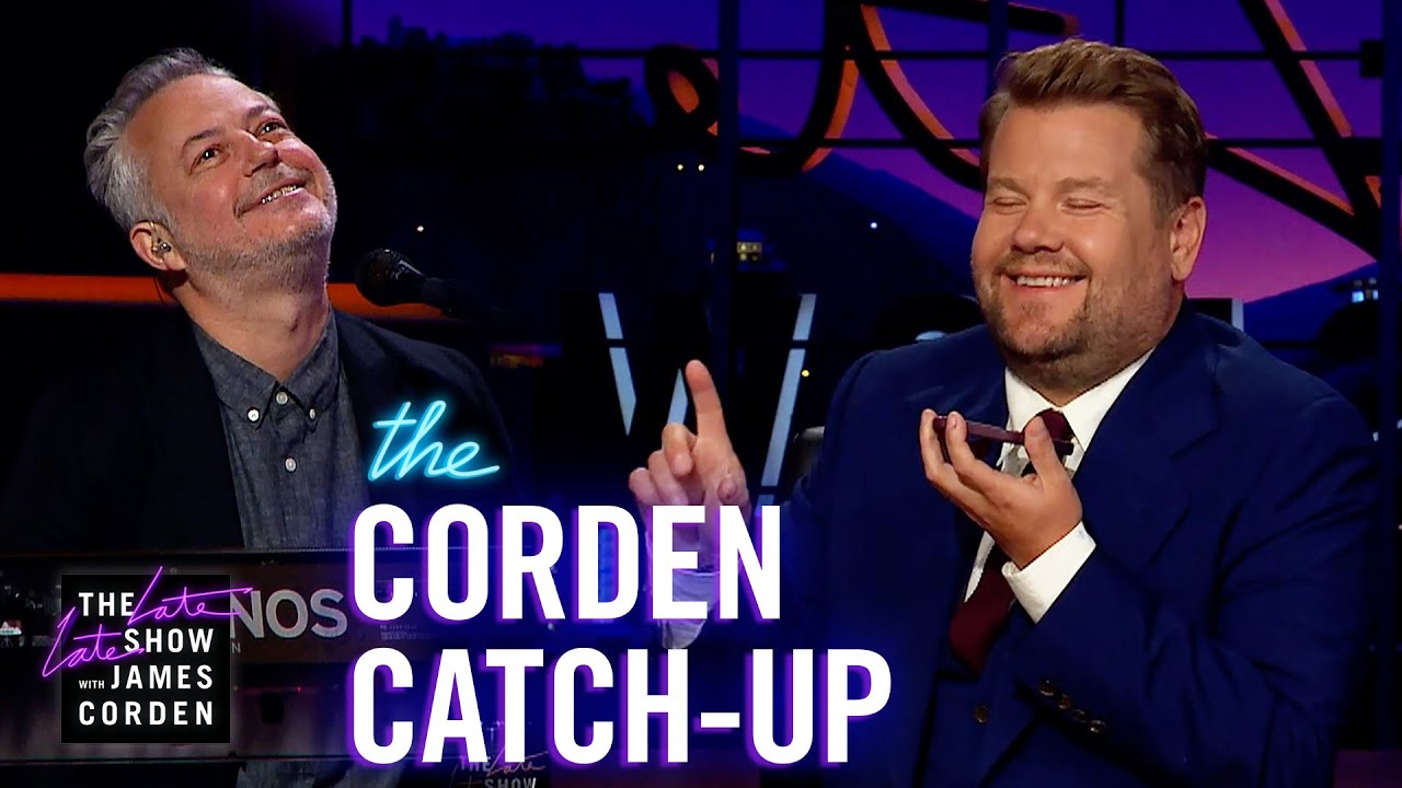 Reggie Watts, Celine Dion, Adele, and the Queen – Corden Catch-Up