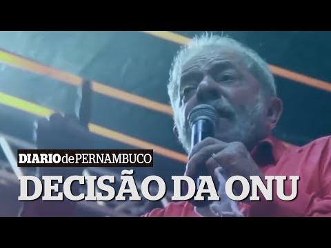 ONU diz que Lula não pode ter candidatura barrada