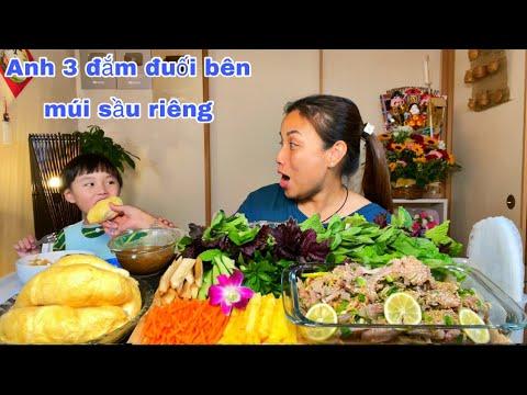 Khai trương chậu rau ngò om kẹp Dê tái chanh chua cay chấm tương bần thơm ngon rụng nách #930