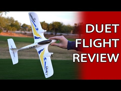 Duet Flight Review - Super Cool Easy To Fly Mini RC Plane - UCBcfnPcLvzR9TqW-jx5GuaA