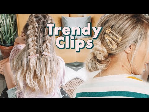 How to Wear Trendy Hair Clips - KayleyMelissa
