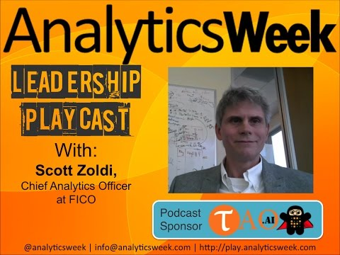 #BigData @AnalyticsWeek #FutureOfData #Podcast with @ScottZoldi, @FICO
