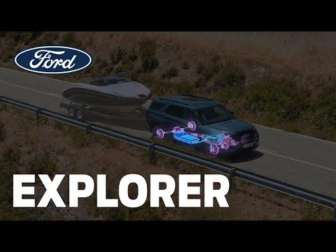 Zkroťte každý terén | Nový Ford Explorer Plug-In Hybrid | Ford Česká republika