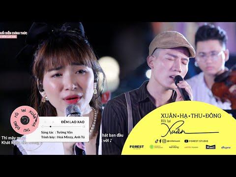 XHTDRLX | Đêm Lao Xao - Hoà Minzy x Anh Tú | Hoà Minzy giả giọng Phương Thanh hát như nuốt đĩa