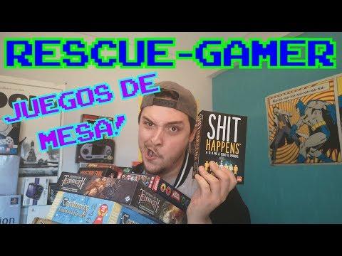 JUEGOS DE MESA!! || Rescue-Gamer
