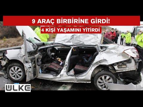 Ankara'da TEM otoyolunda zincirleme kaza!