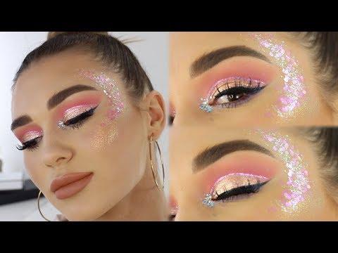 Mystery Box Of Makeup Challenge!!   Festival Makeup Tutorial! - UCPG6A5tNaPfv2SRNW2beq5Q