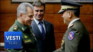 Shoigu's Ships Will Be Sent to Venezuela! Moscow Signs Warship Treaty With Caracas!