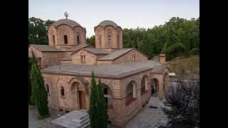 """Manastirea """"Sfantul Dionisie"""" din muntele Olimp"""