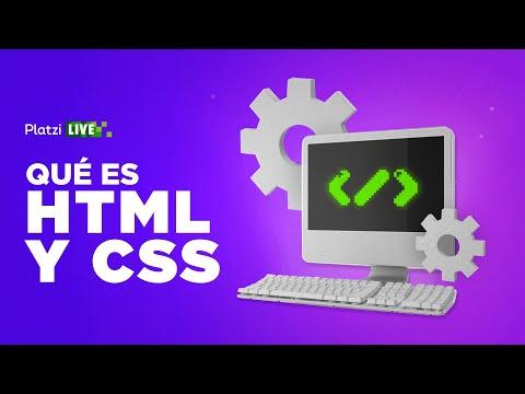 Qué es HTML y CSS