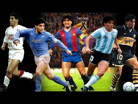 Maradona: adiós a un genio del balón