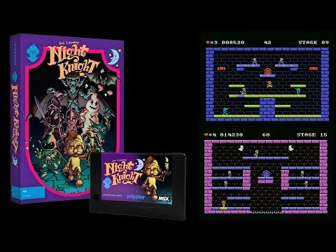 NIGHT KNIGHT MSX TEASER