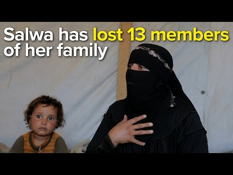 """When I went back the house there was noone."" - Yemeni mother Salwa"