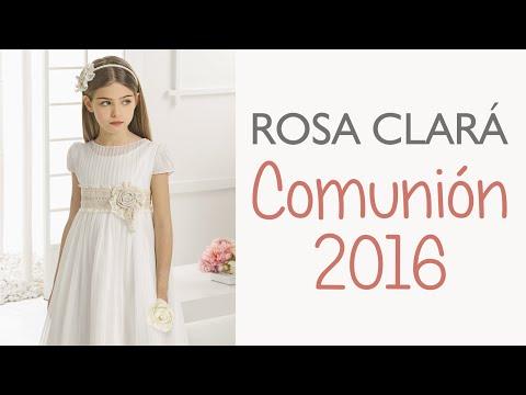 Rosa Clará 2016: Vestidos de Comunión y Arras