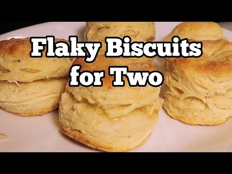 Flaky Biscuits for Two using Whole Milk