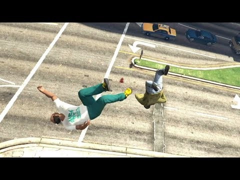 GTA 5 Epic ragdolls compilation vol.37 [Funny moments Grand Theft Auto V] - default