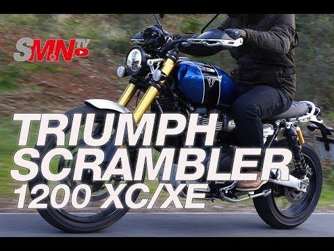 Prueba Triumph Scrambler 1200 XC/XE 2019 [FULLHD]