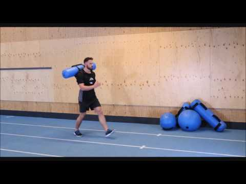 Forward Lunges with Hydrovest®